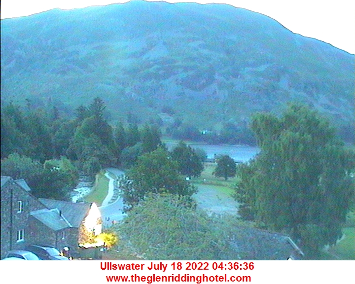 Live from Glenridding Cybercafe, overlooking Ullswater